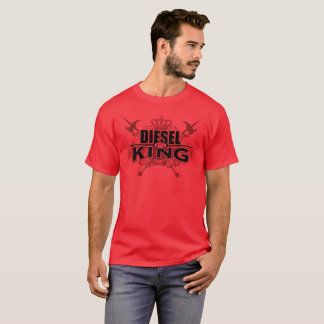Diesel is king red shirt