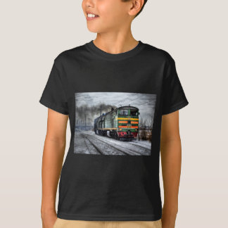Diesel Locomotive Gifts for Train Lovers T-Shirt