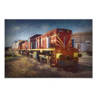 Diesel Locomotive Photo Print