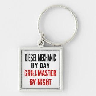 Diesel Mechanic Grillmaster Keychain