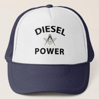 Diesel Powered Trucking Masons Trucker Hat