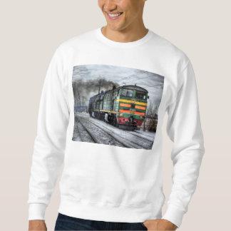 Diesel Train Locomotive Gifts Sweatshirt