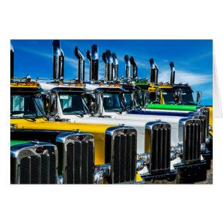 Diesel Trucks Card
