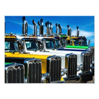 Diesel Trucks Photo Print