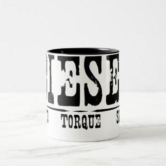 DieselGrunge Two-Tone Coffee Mug