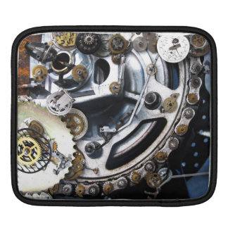 Dieselpunk Steampunk Machine with Gears Sleeves For iPads