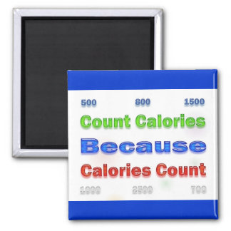 Diet and Weight Loss Count Calories Magnet