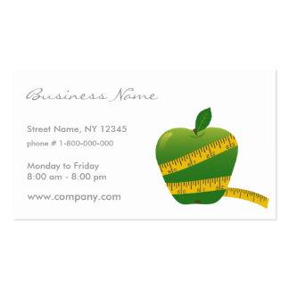 Diet Business Card