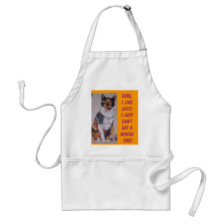 Diet Cat Standard Apron