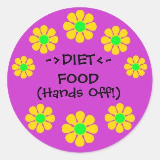 Diet Food Stickers
