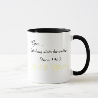 Diet Gin Mug