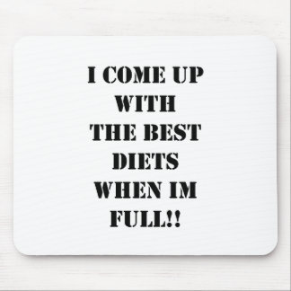 DIET MOTIVATION MOUSE PAD