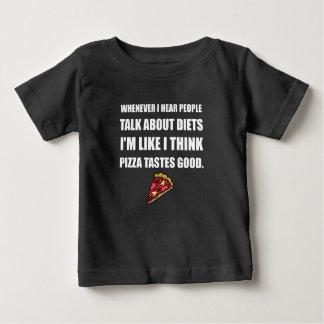 Diet Pizza Tastes Good Baby T-Shirt