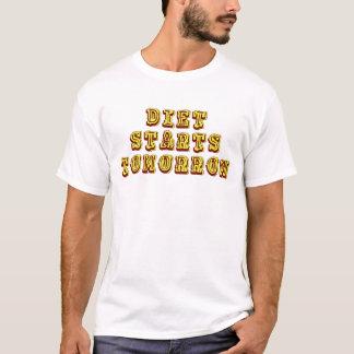 Diet Starts Tomorrow T-Shirt