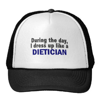 Dietician During The Day Trucker Hats