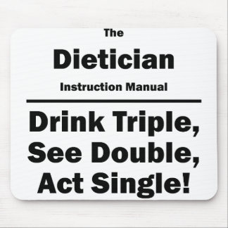 dietician mouse pad