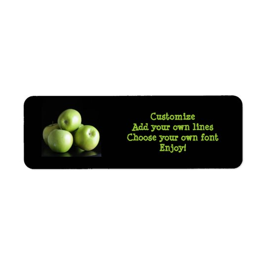 dietician, nutritionist ... an apple a day return address label