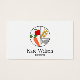 Dietician Nutritionist Business Card