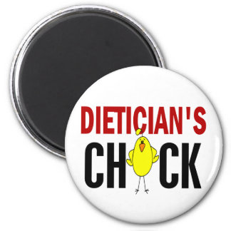 Dietician's Chick 1 Refrigerator Magnet