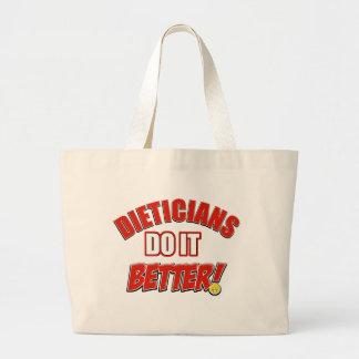 Dieticians job designs bag