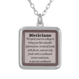 Dieticians Personalized Necklace