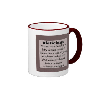 Dieticians Ringer Coffee Mug