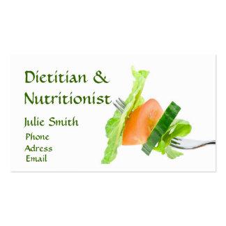 Dietitian Business Card