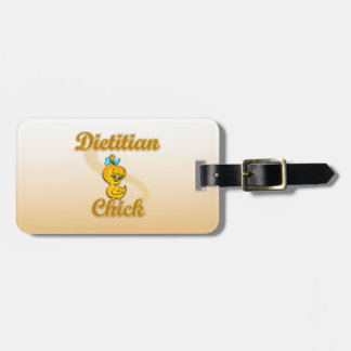 Dietitian Chick Luggage Tag