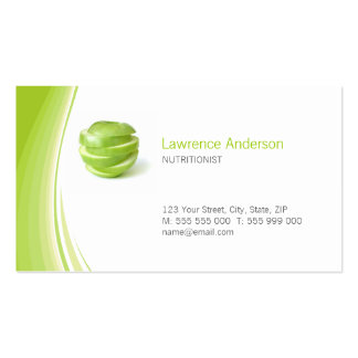 Dietitian / Nutritionist business card