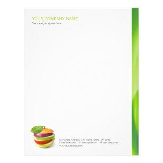 Dietitian / Nutritionist / Healthy Food letterhead
