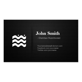 Dietitian Nutritionist - Premium Changeable Icon Pack Of Standard Business Cards