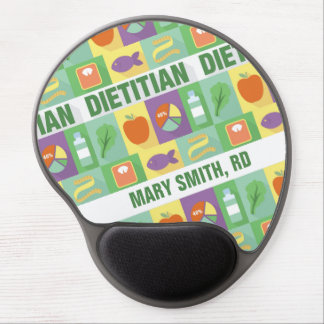 Dietitian Profession Pictogram•Custom Gel Mouse Pad