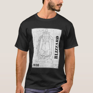 Dietz Blizzard line drawing company shirt