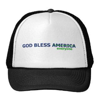 Dieu bénissent chacun casquettes de camionneur