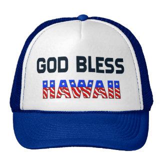 Dieu bénissent Hawaï Casquette De Camionneur