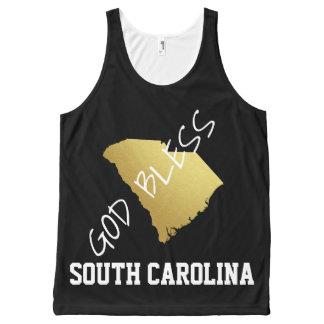 Dieu bénissent la Caroline du Sud - voyez de Bannières