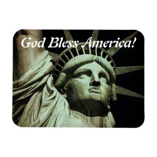 Dieu bénissent la liberté magnet