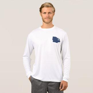 Dieu bénissent la longue chemise de douille de t-shirt