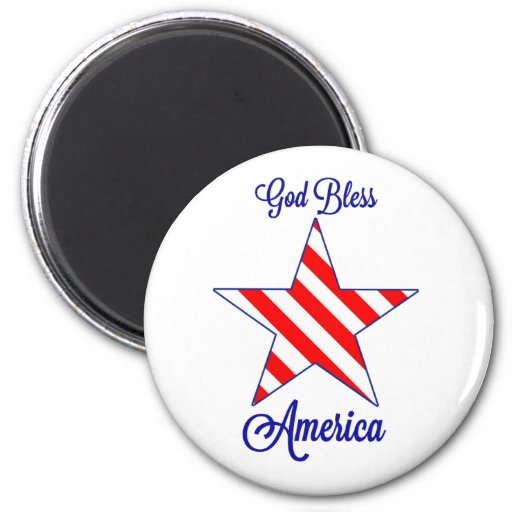 Dieu bénissent l'Amérique Aimants