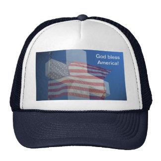 Dieu bénissent l'Amérique !  Cadeaux et vêtements Casquettes De Camionneur
