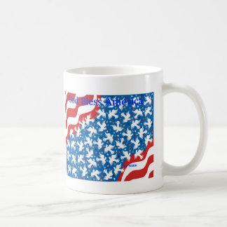Dieu bénissent l'Amérique par Metin Tasse À Café