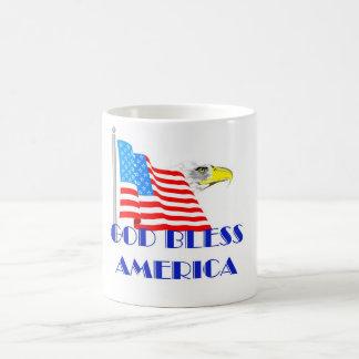 Dieu bénissent l'Amérique Mug