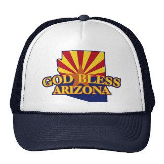 Dieu bénissent l'Arizona Casquettes De Camionneur
