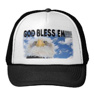 Dieu bénissent le casquette de fin de support