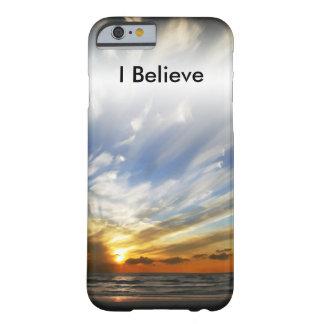 Dieu bénissent le coucher du soleil de l'Amérique Coque iPhone 6 Barely There