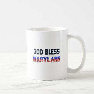 Dieu bénissent le Maryland Tasse