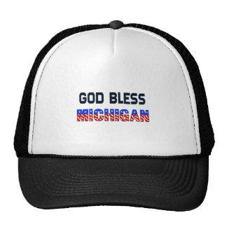 Dieu bénissent le Michigan Casquette