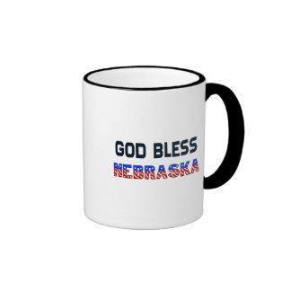 Dieu bénissent le Nébraska Mugs