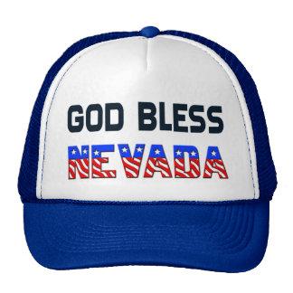 Dieu bénissent le Nevada Casquette