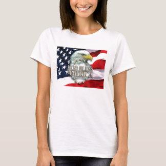 Dieu bénissent le T-shirt de la femme de